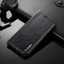 High-end Genuine Leather Card Slot Wallet Holder PU Cases For Samsung, For iPhone suction cups wallet case