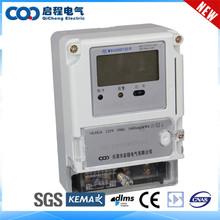 Measure Accurately single phase energy meter cabinet transparent case