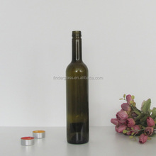 wine bottle 500ml antique green color made in china