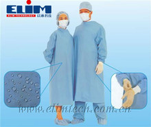 High-Protective Non-woven/PP/SMS Medical Clothing Sterilized Disposable Isolation Surgical Gown