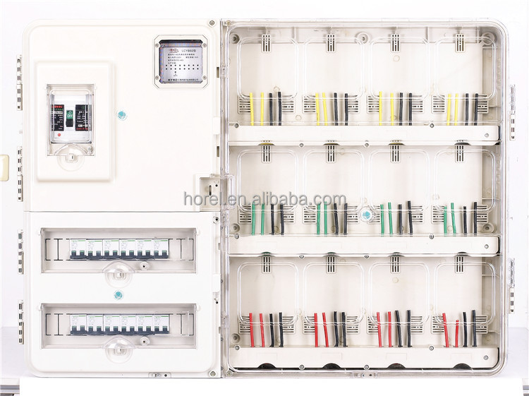 Single phase and three phase KWH meter box