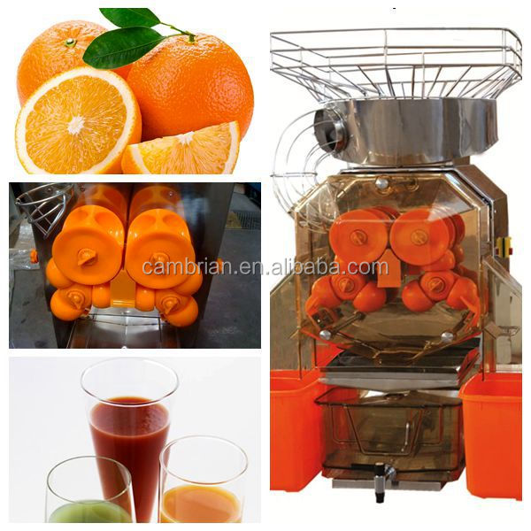 High juice yield fresh squeezed <strong>orange</strong> juicer vending machine with good quality