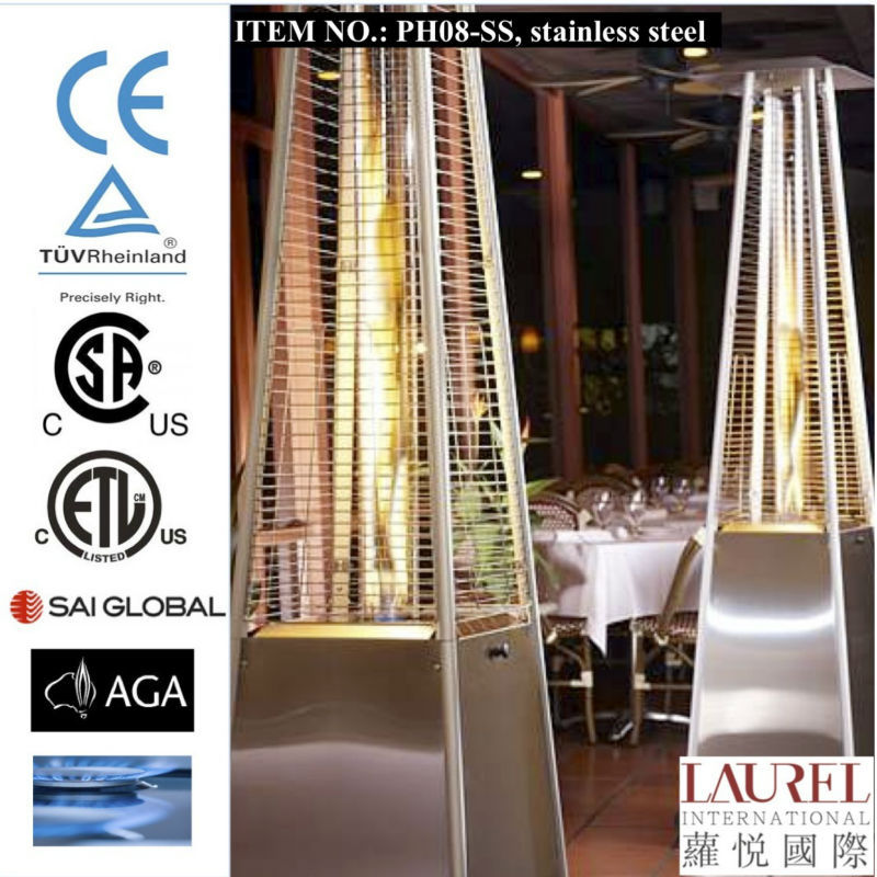 New Glass Tube Flame Lpg Patio Heater, New Glass Tube Flame Lpg Patio Heater  Suppliers And Manufacturers At Alibaba.com