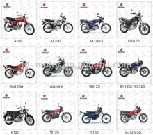 O.E.M Quality Motorcycle parts, Various Models with Super A Grade