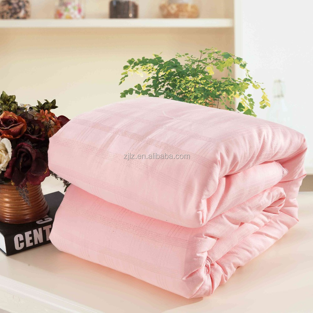 Natural Silk Quilt/Duvet/Comforter China Supplier Eco-friendly bedding Quilt