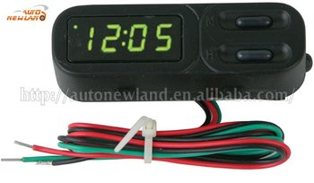 auto digital LED clock