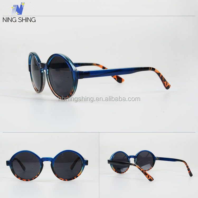 New China Products Unisex Round Leopard 2014 Italy Trendy Designed Sunglasses Bike Sunglasses