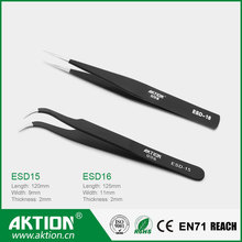 Swiss Quality ESD Anti-static Stainless steel Tweezers