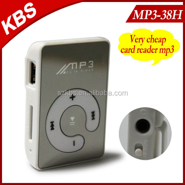 Most Suitable Gift Mini Clip Mp3 Player
