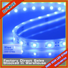 SMD 3528 60LED/meter LED Tape Strip Light Blue Tube Type Waterproof IP65 5 Meter 300LED CE RoHs High Brightness