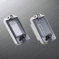 Power Window Switch Cover Plastic Transparent Window Electric Meter Box Cover