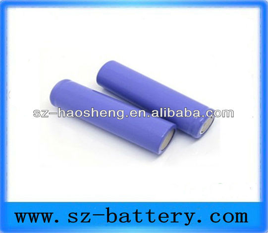 2013 High Quality Smoktech 2200mah 18650 Rechargeable Lithium-ion Electronic Cigarette Battery Cell 18650 Battery for sony