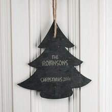 Professional christmas slate board made in China