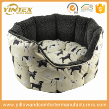 Amazon Top Supplier yintex dog bed stock cheap wholesale super comfortable luxury square pet dog bed
