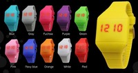2015 cheap wholesale kids digital silicone touch led watch for promotional gift