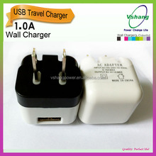 2016 Folding wall charger /easy take travel charger high quality cheap price wall charger