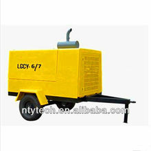 Yellow Portable Small CNG Compressor