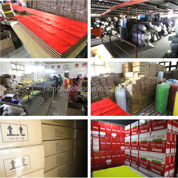 Best seller Factory direct 100% Color / colour Wool felt with various color Customization