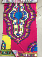 China Factory fabric Wholesale Latest dashiki print fabric