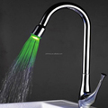 led faucet mixer color change kitchen faucet mixer HM-0508