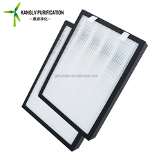 Latest 24x24x6 inch hepa filter, h13 99.99% high capacity ac furnace hepa air filter