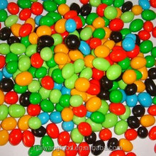 Manufacturer direct/Christmas sales/market extension Chocolate suppliers colorful sugar coated candy chocolate beans