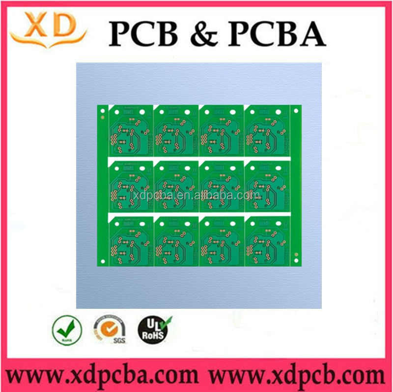 XingDa rigid mulitilayers 94v0 rohs pcb board