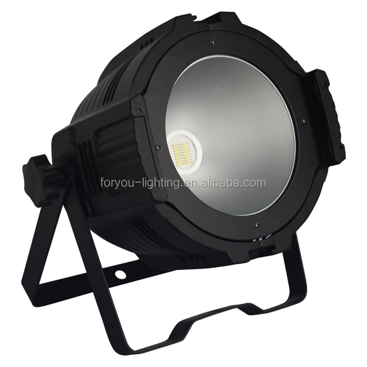 High Quality 200Watt Professional Disco DJ Wedding Studio DMX Wash Par 200W RGBWA+UV 6IN1 COB Par64 LED Stage Light