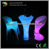 RGB color changing lighting bar led table