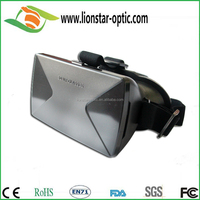 6.0 inch smart phone 3d VR glasses plastic virtual reality 3d glasses headset