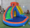 lead free inflatable jumbo slide, professional inflatable water slide,inflatable surf slide manafacturer