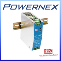 [ Powernex ] Mean Well NDR-120-12 120W 12V 10A Single Output Industrial DIN Rail Switching Power Supply