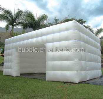 2018 hot sale cube tent, big inflatable marquee tent good price from China supplier