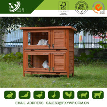 Promotional anticorrosive large wooden outdoor rabbit hutch