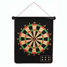 High Quality 15 inch magnetic dart board custom hanging indoor dartboard game