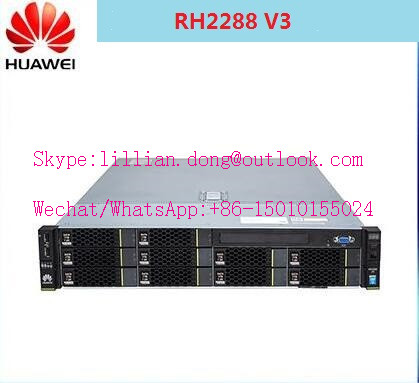 Hua wei 2U rack server RH2288 V3, new generation RH2288H V3 , 10 HDD rack