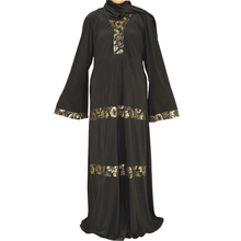 modern muslim women long dress black abaya jilbab islamic clothing