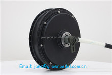 New arrival QS V3 50H magnet electric bicycle 72V 3KW hub motor