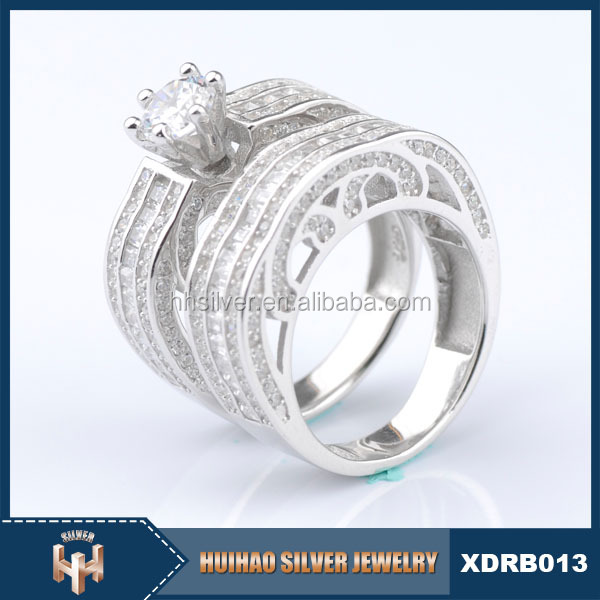 OEM new design Luster polished value 925 cz rings thailand for gift