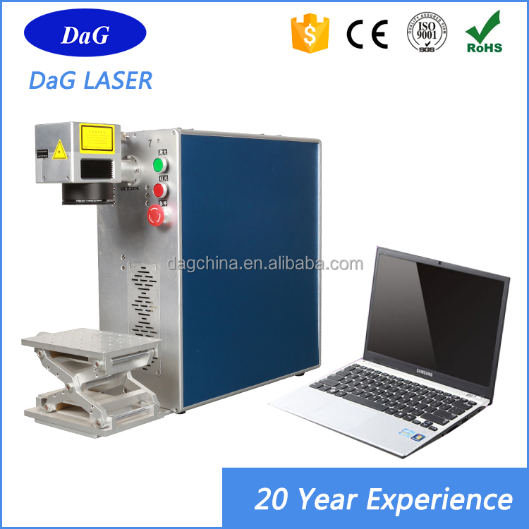 10W 20W 30W 50W Portable Mini Fiber Metal Stainless Steel Jeans Laser Printing Machine Price for steel