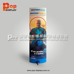 solar power outdoor advertising display,odm paper totem