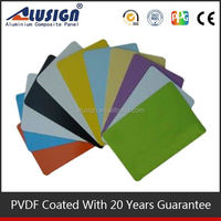 Alusign aluminum composite panel ceiling wall cladding facade panel