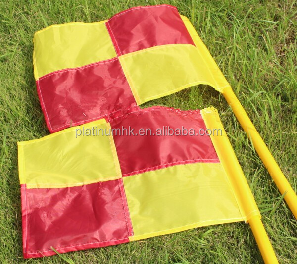 Soccer Corner Flag (spike base , Set of 4 with bag )