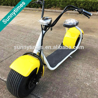 Sunnytimes 2016 hotsale 800w citycoco china 2 wheels off road E-bicycle motorcycle for adults