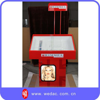 Retail store individual cosmetic display stand