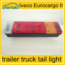 bus trailer truck tail light pmma lens tail light for trucks trailer bus 24V iveco eurocargo II