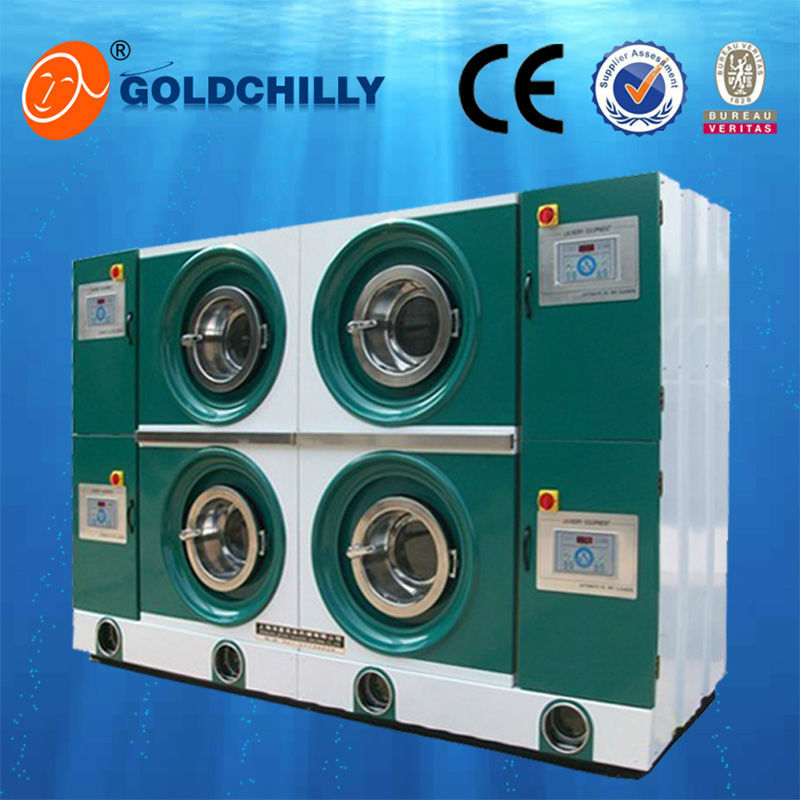 environmentally isolated dry-cleaning machine for high-end clothes