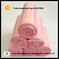 Food Grade HDPE Plastic Flat Roll Food Bags on Roll
