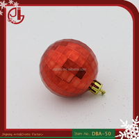 High Quality Plastic Christmas Cristal Ball Party Decoration For Christmas Tree