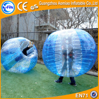 2016 happy island toys bubble soccer, bumper ball suit, inflatable bubble ball